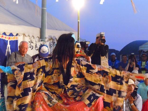鞍馬山のカラス天狗~浦崎夜神楽祭り~