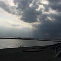 Photos: 男二人と雲