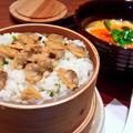 写真: 大戸屋 ( 成増 )  あさりのせいろご飯と 手創り豆腐のとろとろ煮