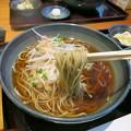 生粋手打蕎麦 市川 野菜のかき揚げ温そばと蕎麦湯でホッコリ