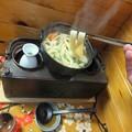 Photos: 燗銅壺で うどん