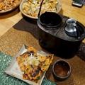 Photos: 燗銅壺の使い方 お湯だけ
