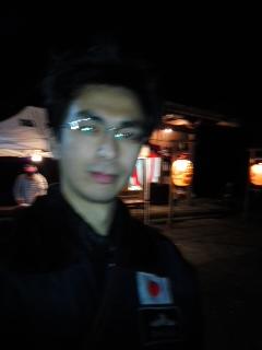 写真: 諏訪神社奉仕(12月31日、角田晶生)