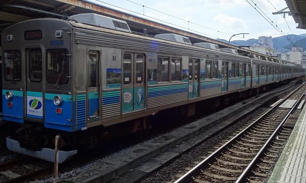 伊豆急行8000系(JR東日本熱海駅にて)