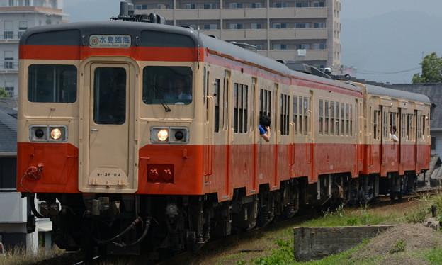 Photos: 水島臨海鉄道水島本線キハ38形+キハ37形+キハ30形