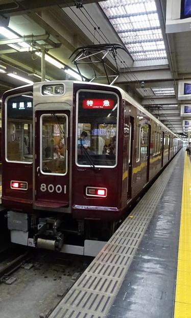 阪急電鉄8000系(8001編成)