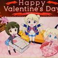 きんモザ ホームページ バレンタインデーバージョンw