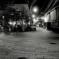 祇園白川の夜