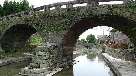 高瀬裏川花しょうぶまつり(12)眼鏡橋