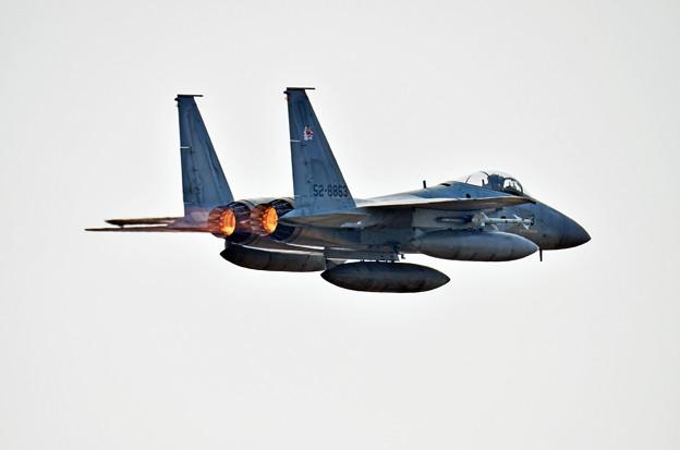 築城基地 アラート発進F-15J