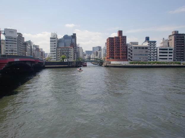 柳橋(隅田川から)