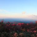 夕霧峠から 紅葉