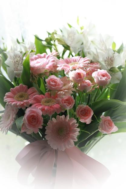 花束を貰いました(2)