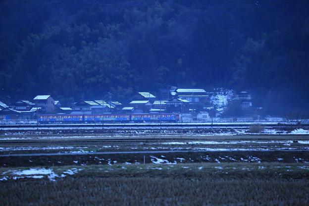 七尾線 ラッピング電車