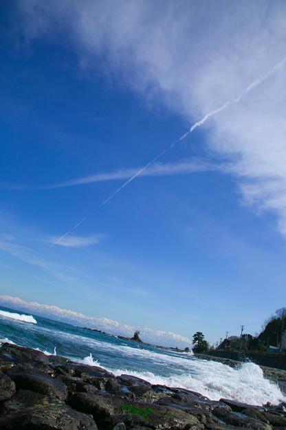 雨晴海岸 天空