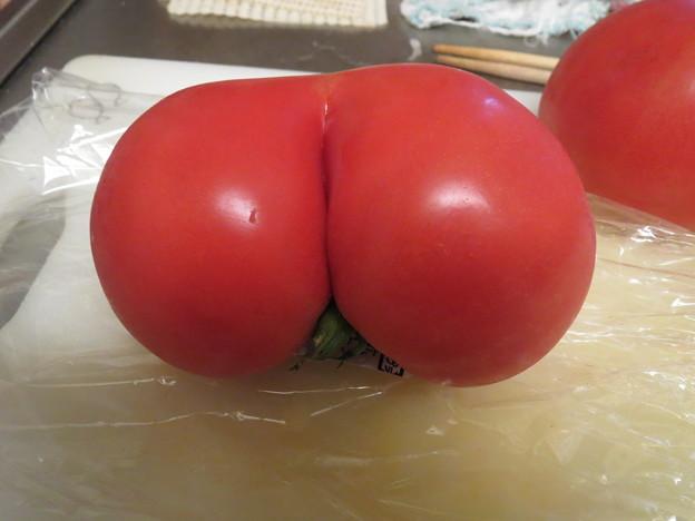 おちりトマト♪