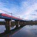 Photos: 庄内川橋梁を行く