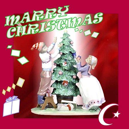 クリスマスカードをコラージュ☆