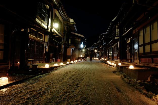 奈良井宿雪灯り'15-7