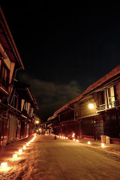 奈良井宿雪灯り'15-9