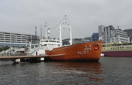 南極への夢を乗せた船