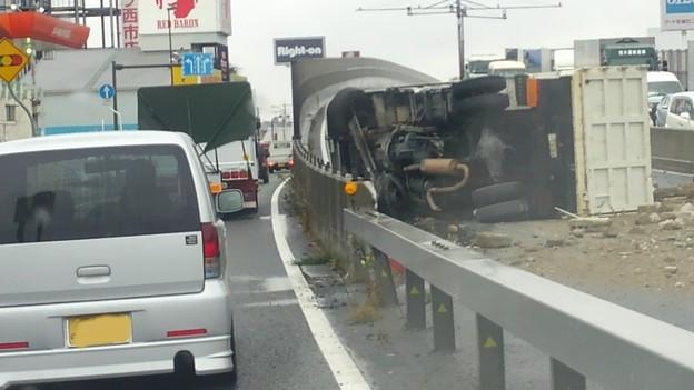 事故 岡山 バイパス