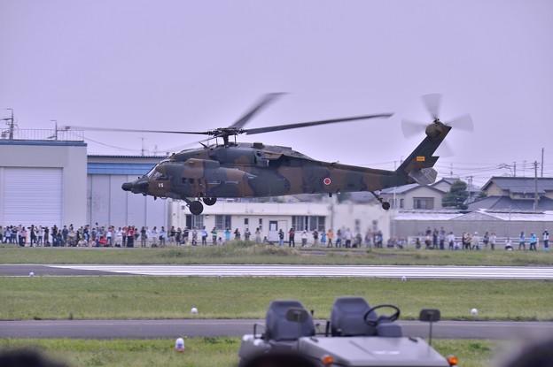 UH-60JAブラックホークテイクオフ・・木更津へ
