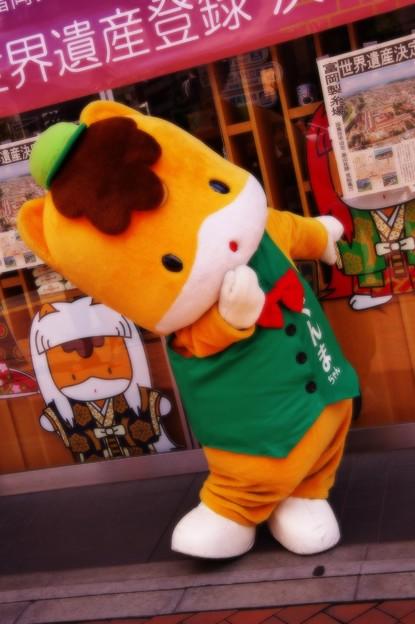 2014年ゆるキャラGPグランプリ ぐんまちゃん・・20140629