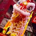 Photos: 愛くるしい表情な中国獅子舞。。横浜中華街 2月21日