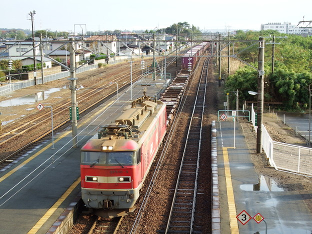 EF510‐9牽引 下り貨物