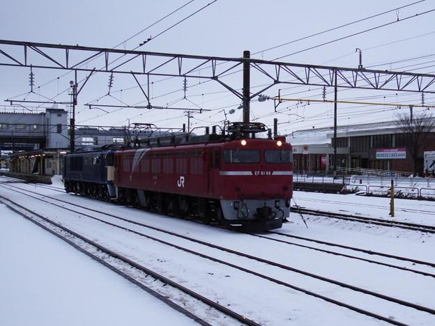 EF81‐98牽引EF64‐1032配給 vol.5