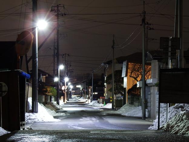 生活道路の灯り