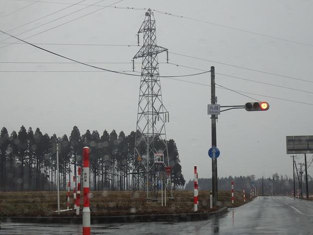 信号待で気になる鉄塔を発見