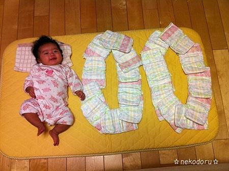 100日文字1