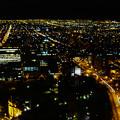夜の地平線
