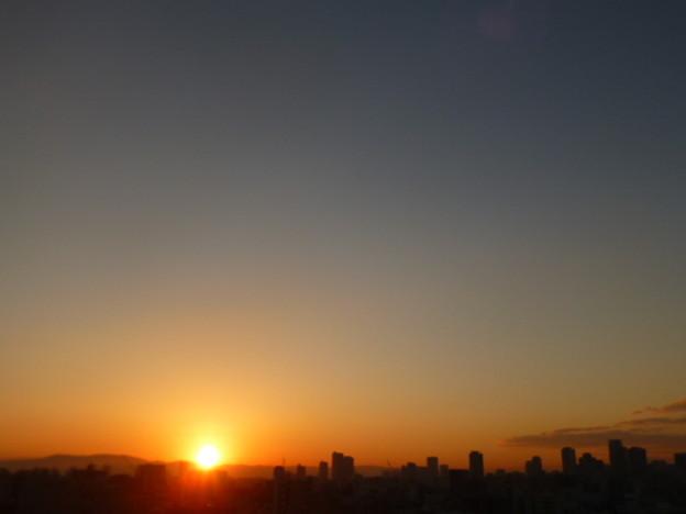 大阪の日の出