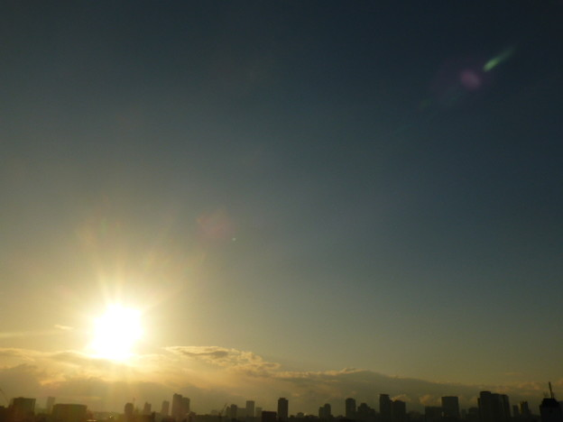 2015年1月最後の朝日@大阪
