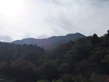 モンベルショップあたりから見た大山