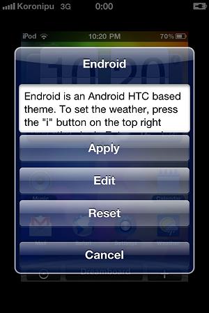 batterydetective_DreamBoard -WinterBoardとは違った形のテーマ変更アプリ cydiaアプリの ...
