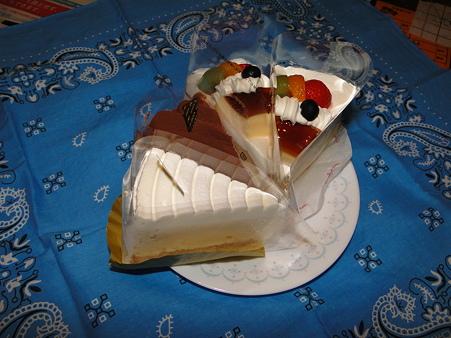 ムスコの誕生日ケーキ