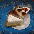 写真: ムスコの誕生日ケーキ