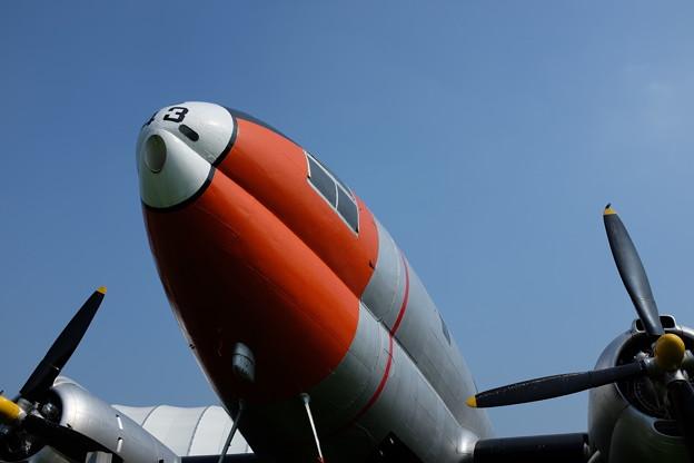 航空記念公園の飛行機