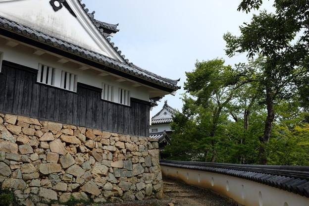 備中松山城天守閣と二重櫓