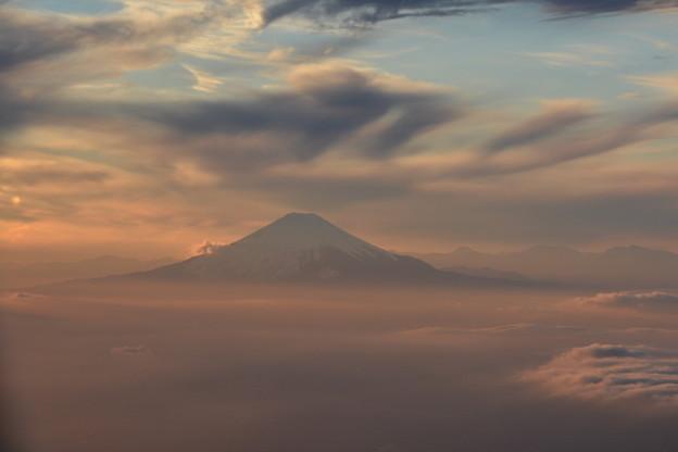 幻想的な富士山(1)