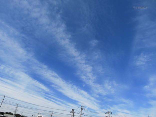Photos: 集中感のある雲