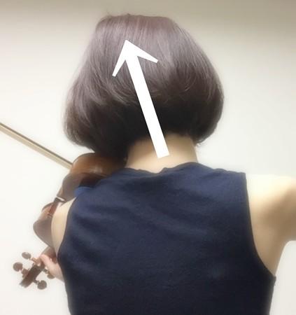 中野・江古田 バイオリン 個人レッスン ヴィオラ 吉瀬弥恵子 Y's音楽教室 あご当てでお昼寝