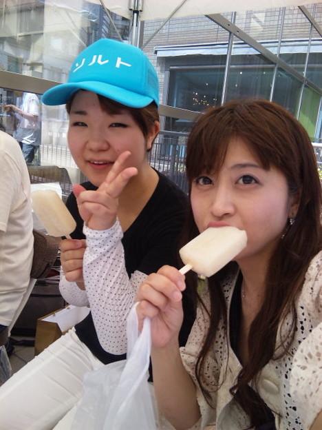 写真: コークンありがとー♪(*^ー^*) RT @k_qun: @satoppiko おつかれっしたー。ガリ...