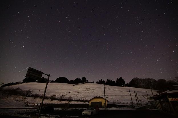 冬の星空と愛車(IMG_9380_S)