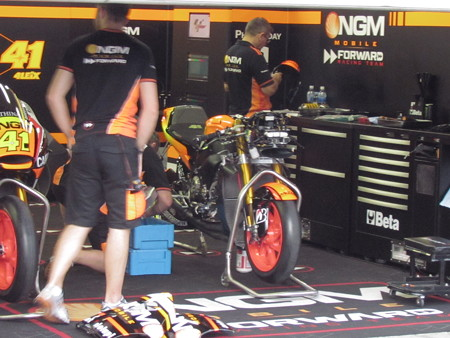2014 NGM Forward Racing Yamaha MotoGP もてぎ IMG_2330