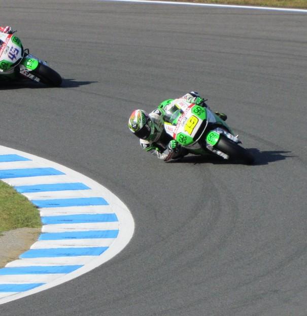 写真: 2014 motogp motegi もてぎ アルバロ バウティスタ Alvaro BAUTISTA Honda Gresini  94